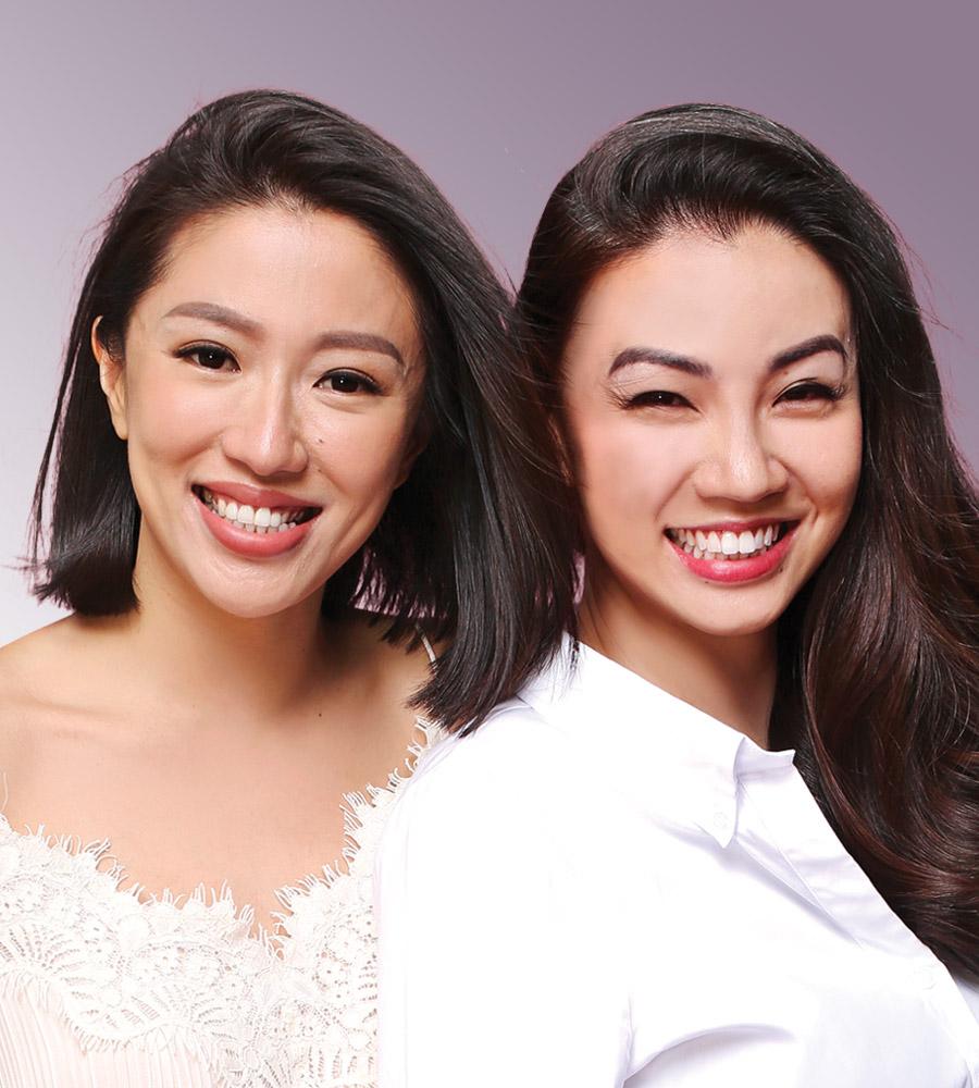 Rachel Lim N Viola Tan